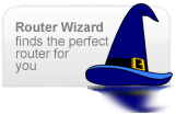 router wizard - find the perfect router for you